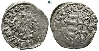 Savoca Coins Medieval Silver Coin0,84 g / 16 mm !PEP3491