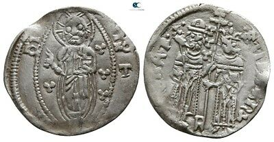 Savoca Coins Medieval Silver Coin1,04 g / 18 mm !PEP3492