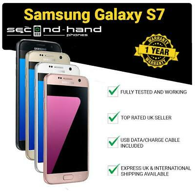 Samsung Galaxy S7 G930F 32/64GB Black/White/Pink Gold/Gold/Silver UNLOCKED