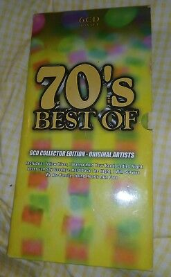 70's CD BOX SET - 6 CD COLLECTOR EDITION - UNPLAYED