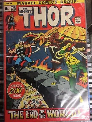 Thor  (The Mighty ) #200 Jun '72   to  #224 Jun '74 25 issues Marvel Comics