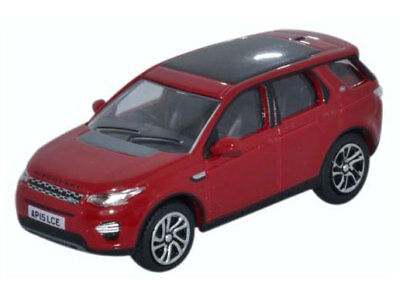 Oxford 76LRDS002 00 PKW Land Rover Discovery Sport Firenze red