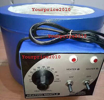 10Ltr Heating Mantle 110/220 Watts With Thermal Regulator KFW Heating Mantle