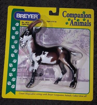 Breyer #1512 Alpine Goat Tricolor Companion Animals 1999-2002
