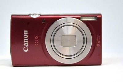 CANON Ixus 185 Digitalkamera  20.0 MP 8x opt. Zoom rot
