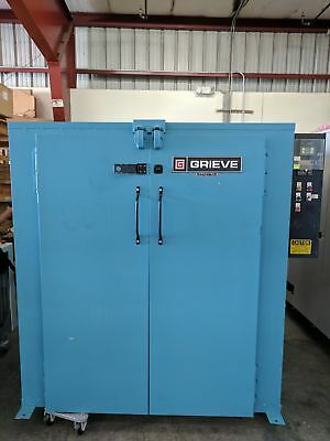 Grieve TB-500 Walk in bake truck oven 500F Max temp powder coating drying