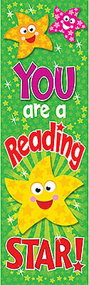 36 You are a Reading Star Childrens Reward Bookmarks - Trend Enterprises
