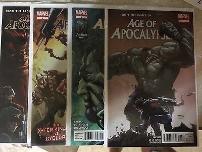 Age of Apocalypse issues 1-4 in near mint!