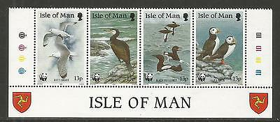 Isle of Man 1989 WWF/Seabirds--Attractive Bird Topical (402a) MNH