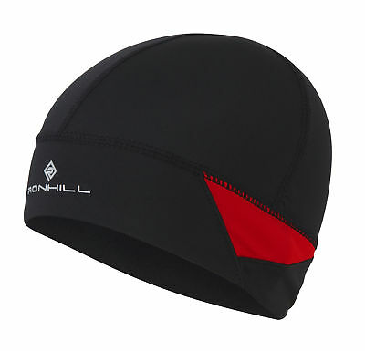 Ronhill Vizion Beanie Hat And Glove Set - Black/Yellow - Rrp 20 Gbp - S/M