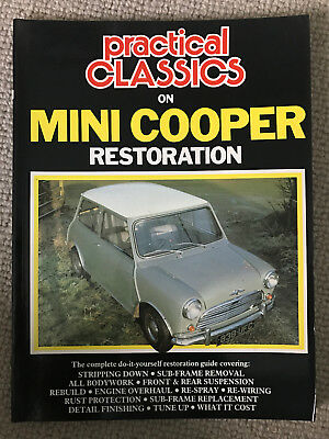Practical Classics on Mini Cooper Restoration (Brooklands Books)