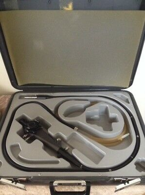 Olympus OSF-2 Flexible Sigmoidoscope w/light source-water,suction guide cable