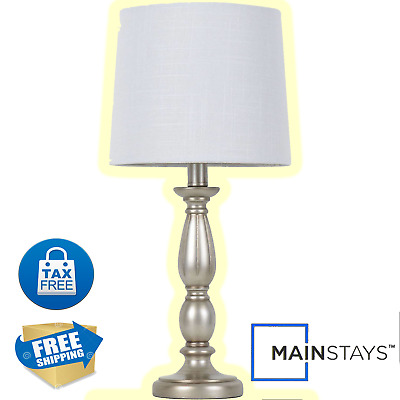 Classic Silver Antique Style Design Table Lamp Better Homes and Gardens® Decor
