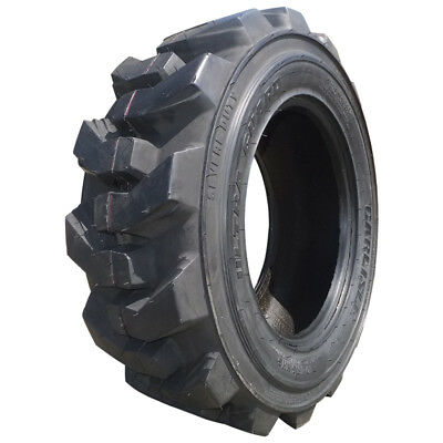 Single Carlisle 12x16.5 Ultra Guard Severe Duty Skid Steer Tire - 12 Ply