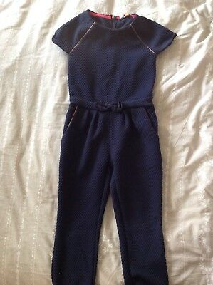 Girls Ted Baker Jumpsuit Age 4-5 Years