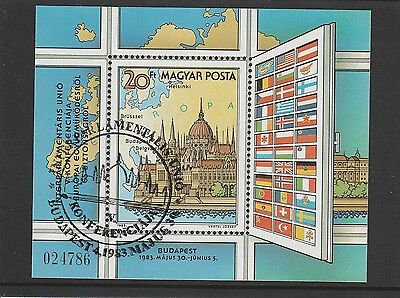 Hungary - 1983 - 5Th Inter - Parliamentary Union Conference - Ms - Cto