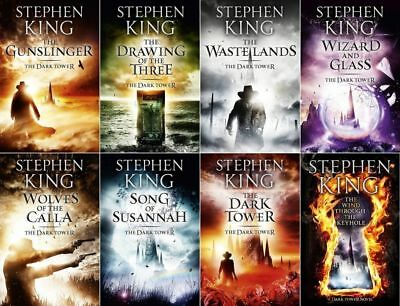 8 Audiobooks - The Dark Tower Complete Series by Stephen King Mp3 Unabridged E