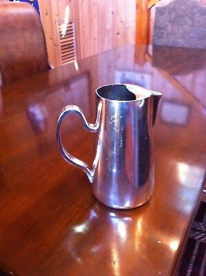 Hotel Silver - Water Pitcher - D.W. Haber & Sons New York