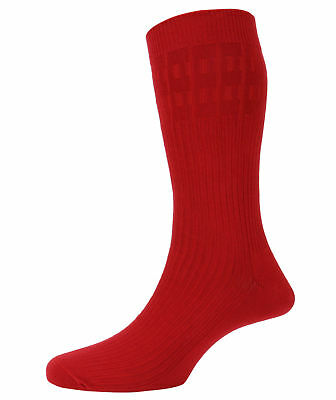 Mens No Elastic Non Binding Soft Top Cotton Rich Socks from Peter England