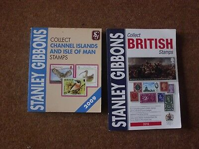 2016 Collect British Stamps & 2009 Collect Channel Islands & Isle of Man - rf280