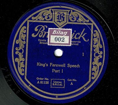 Zeitgeschichte : KING's FAREWELL SPEECH           PART 1+2