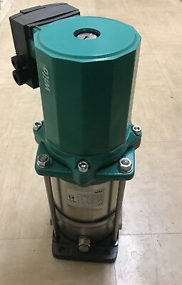 multistage pump with glandless pump motor.