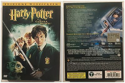 DVD - Harry Potter e La Camera dei Segreti 2DVD prima edizione in Cartone