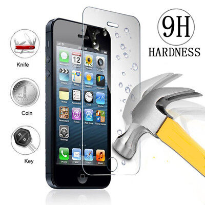 100% Genuine Tempered Glass Screen protector protection For Apple iPhone 6/6s