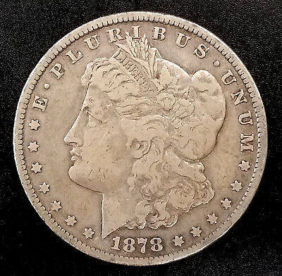 1878 CC Morgan Silver Dollar! First Year of the Series! NO RESERVE!