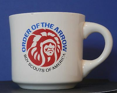 Order of the Arrow Boys Scouts Vintage Ceramic Mug Cup Chief Picture