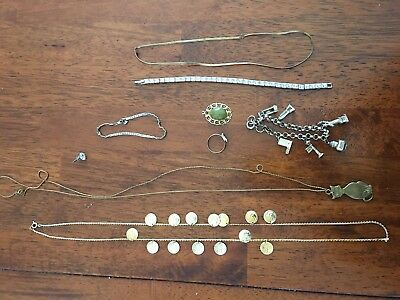 Deceased Estate Bulk Jewellery Gold & Silver Tones & Costume  - Lot 17