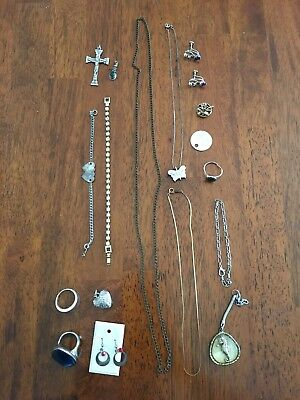 Deceased Estate Bulk Jewellery Gold & Silver Tones & Costume  - Lot 14