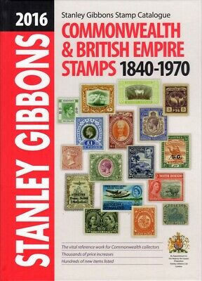 SG Stanley Gibbons 2016 Commonwealth & British Empire Stamps Catalogue