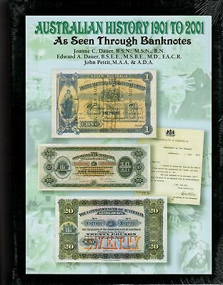 Australian History 1901 to 2001 As Seen Through Banknotes Hard Cover Slipcase