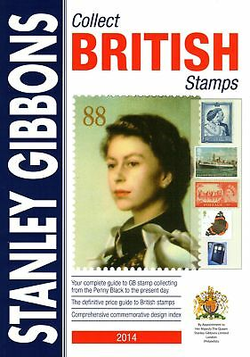 SG Stanley Gibbons 65th Edition 2014 Collect British Stamps Catalogue