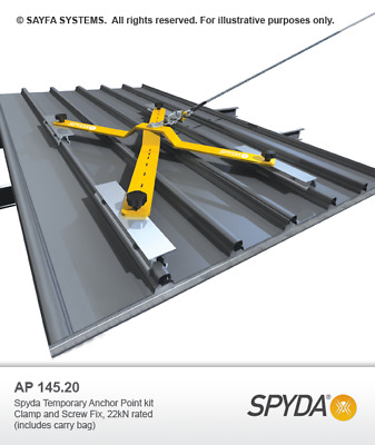 Sayfa Spyda Temporary Anchor System Height Safety Anchors