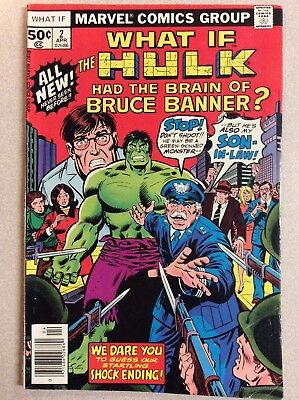 What If ? #2 (Marvel Comics) The Hulk had the Brin of Banner, April 1977