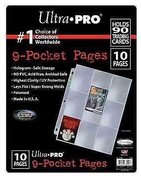 ATC Ultra Pro 9-Pocket Page (10 Pack)