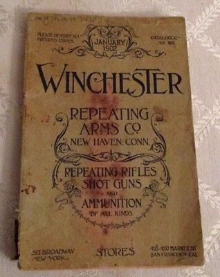 1902-Winchester Repeating Arms Co Catalog-Rifles-Shot Guns-Ammo-164 Pgs-All Org