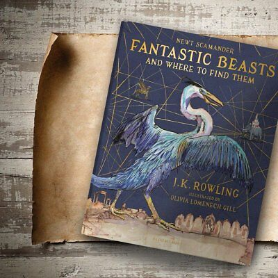 J.K.Rowling's FANTASTIC BEASTS AND WHERE TO FIND THEM Illustrated Edition