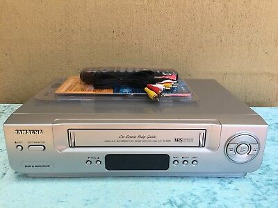 Serviced Samsung SV-660 Stereo Video Recorder Player + REMOTE VHS Player VCR