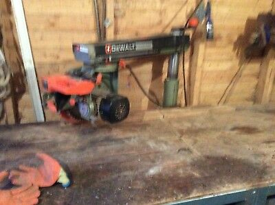 Dewalt Radial Arm Saw Power Shop DW125 good working saw had very little use