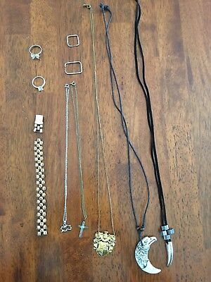 Deceased Estate Bulk Jewellery Gold & Silver Tones & Costume  - Lot 15