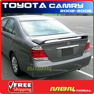 Fits 02-06 Toyota Camry XV30 Factory Trunk Spoiler OEM Painted Color  #202 Black