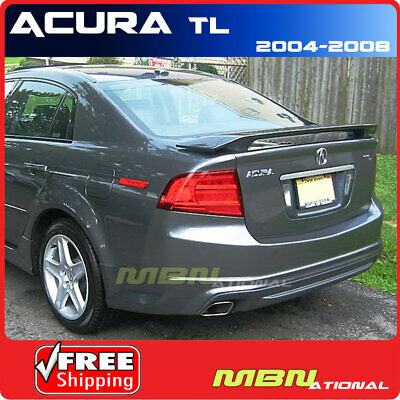 For Acura TL 4Dr 4 Dr 09-16 Trunk Rear Spoiler Painted WHITE DIAMOND NH603P