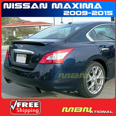 For 09-15 Nissan Maxima Rear Trunk Flush Lip Spoiler Painted ABS RAB NAVY BLUE