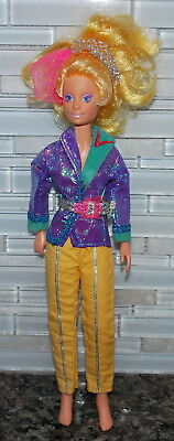 Vintage Jem And The Holograms Video Doll 1987 Used