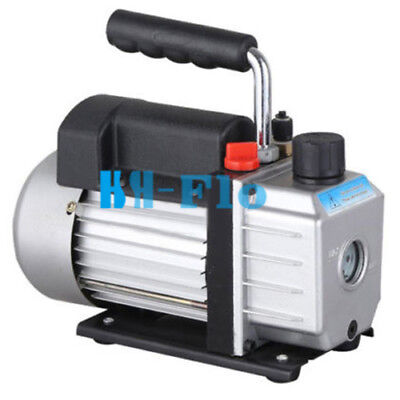Single Stage 6CFM Refrigeration 220V Vacuum Pump Tool R410A R134A R407C HVAC