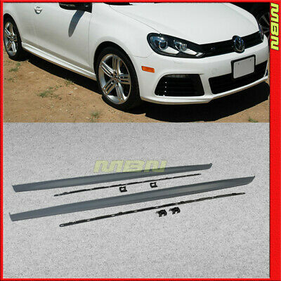 wholesale online many fashionable latest FOR 10-14 VW Golf GTI MK6 IV R20 Style Side Skirts Body Kit ...