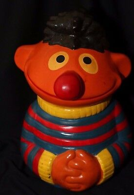 Vintage Ernie from Sesame Street Cookie Jar!